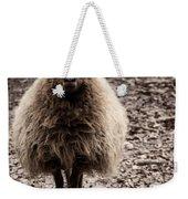 Sheep Stare Weekender Tote Bag