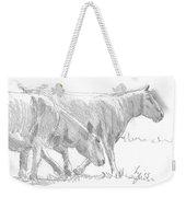 Sheep Walking Weekender Tote Bag