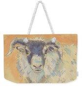 Sheep With Horns Weekender Tote Bag