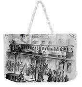 Sheet Music Cover, 1875 Weekender Tote Bag