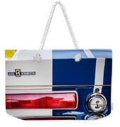 Shelby Cobra G.t. 500 Rear Emblems -0036c Weekender Tote Bag