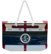 Shelby Cobra Tailgate Emblem Weekender Tote Bag