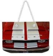 Shelby Hood Weekender Tote Bag