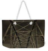 Shelby Street Bridge Details Nashville Weekender Tote Bag