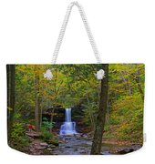 Sheldon Reynolds Falls And Kitchen Creek Weekender Tote Bag