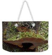 Shelf Mushroom With Moss Weekender Tote Bag