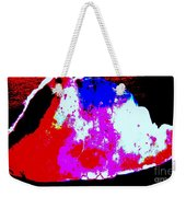 Shell Abstract Weekender Tote Bag