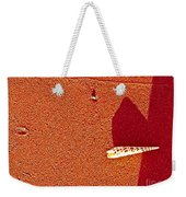 Shell And Sand Reddish Version Weekender Tote Bag