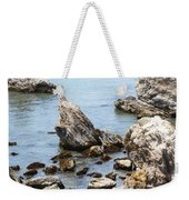 Shell Beach Rocky Coastline Weekender Tote Bag