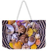 Shell Collecting Weekender Tote Bag