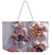 Shell Flowers  No 1  Weekender Tote Bag