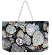 Shell On The Shore 1 Weekender Tote Bag