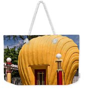 Shell-shaped Shell Station North Carolina Weekender Tote Bag