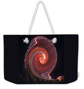 Shell Swirl Weekender Tote Bag