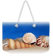 Shells In Sand Weekender Tote Bag