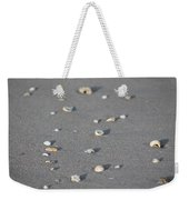 Shells On A Beach Weekender Tote Bag