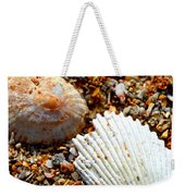Shells On Sand Weekender Tote Bag