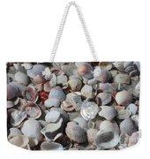 Shells On Treasure Island Weekender Tote Bag by Carol Groenen