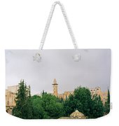 Historic Jerusalem Weekender Tote Bag