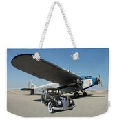 Shelter Of Your Wings Weekender Tote Bag