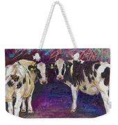 Sheltering Cows Weekender Tote Bag