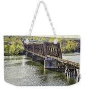 Shelton Derby Railroad Bridge Weekender Tote Bag