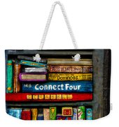 Shelved-15 Weekender Tote Bag