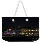 Shem Creek At Night Weekender Tote Bag