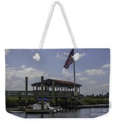 Shem Creek Bar And Grill Weekender Tote Bag