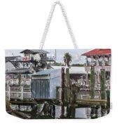 Shem Creek Dockage Weekender Tote Bag