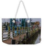 Shem Creek Pier Weekender Tote Bag