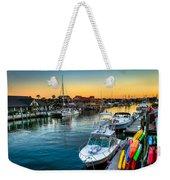 Shem Creek Sunset Weekender Tote Bag