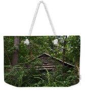 Shenandoah Log Cabin Weekender Tote Bag