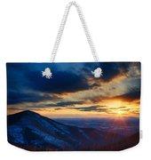 Shenandoah Sunset Weekender Tote Bag