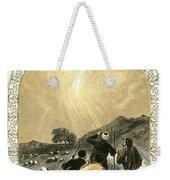 Shepherds And Angel Weekender Tote Bag