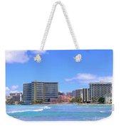 Sheraton And Royal Hawaiian View Weekender Tote Bag