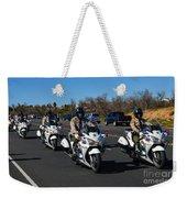 Sheriff's Motor Officers Weekender Tote Bag