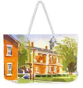 Sheriffs Residence With Courthouse II Weekender Tote Bag
