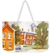 Sheriffs Residence With Courthouse Weekender Tote Bag