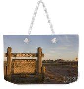 Sherman Mountains Wyoming Weekender Tote Bag