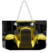 She's Yellow Weekender Tote Bag