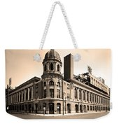 Shibe Park  Weekender Tote Bag by Bill Cannon