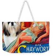Shih Tzu Art - Salome Movie Poster Weekender Tote Bag