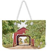 Shimanek Covered Bridge Weekender Tote Bag