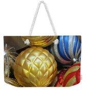 Shimmering Bauble Weekender Tote Bag