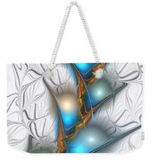 Shimmering Lights Weekender Tote Bag by Anastasiya Malakhova
