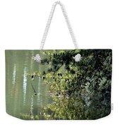Shimmering Pine Weekender Tote Bag