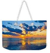 Shimmering Sundown Weekender Tote Bag