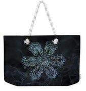 Snowflake Photo - Shine Weekender Tote Bag