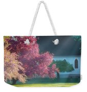Shine The Light On Me Square Weekender Tote Bag